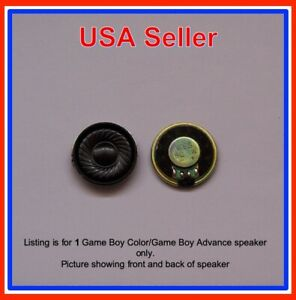 GBA GBC Nintendo GameBoy Color or GameBoy Advance 1 Replacement Speaker -1W USA!