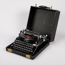 Remington Noiseless Portable Working Typewriter Antique Schreibmaschine