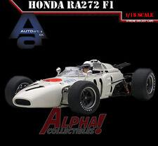 AUTOART 86599 1:18 HONDA RA272 F1 GP MEXICO 1965 RICHIE GINTHER #11 W/ FIGURE