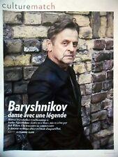 COUPURE DE PRESSE-CLIPPING : Mikhaïl BARYSHNIKOV danse [3pages] 06/2016 Nijinski