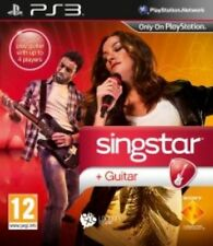 Ps3 Game Singstar Sing Star Guitar PlayStation 3 Karaoke