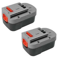 2x Werkzeug AKKU 14,4V 3000mAh für Black & Decker HP142K HP146F2B HP146F3K NM14