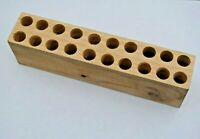 Wooden Block Replacement For Carbine Cartridge Box - Civil War