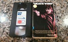DEATH WISH RARE VHS TAPE! PARAMOUNT 1974 RAPE MURDER REVENGE! CHARLES BRONSON!