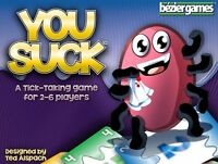 Bezier Games: You Suck Card Game (New in Box shrink wrapped)