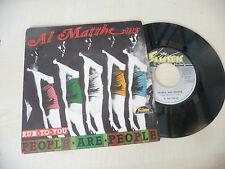 "AL MATTHEWS"" RUN TO YOU-disco 45 giri ELECTRIC It 1978"" SEXY COVER/PERFETTO"