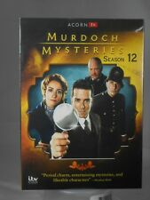 Murdoch Mysteries: Season 12 (DVD, 2019, 5-Disc Set) Plays in the US and Canada