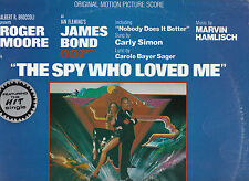 The Spy Who Loved Me-1977- Soundtrack-[Made In Australia]-11 Track- Record LP