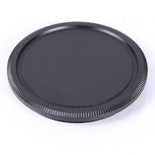 Metal Body Lens Cover Cap For M42 42mm Screw Mount for Pentax Leica Camera Black