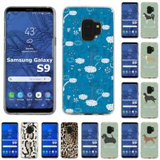 Thin Gel Design Protective Phone Case Cover for Samsung Galaxy S9,Cats Print