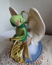 Annalee Angel, FELICITY FROG, with French Horn, 1991