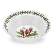 New listing Includes Only 5, Portmeirion Exotic Botanic Garden Oatmeal Bowls Red Ginger
