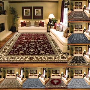 Non Slip Large Traditional Rugs Bedroom Living Room Hallway Runner Floor Carpet