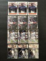 Ken Griffey Jr. 12 Card Lot Topps Donruss MLB Baseball Seattle Mariners