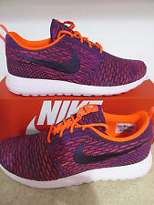 nike womens rosherun flyknit running trainers 704927 803 sneakers shoes