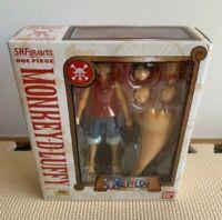 One Piece S.H.Figuarts Monkey D. Luffy Bandai Figure Japan F/S Very Good hi53
