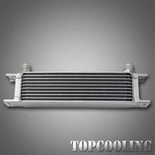 10 Row AN-10AN  Aluminum Engine Transmission Oil Cooler Mocal Style