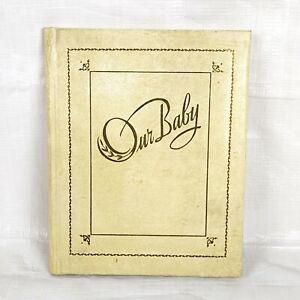 1940s Baby Memory Keepsake Book, Unused, Midcentury Vintage Birth to 7 Years
