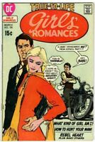 GIRLS' ROMANCES #155  John Romita art, Love, DC Comics 1971 in Fine