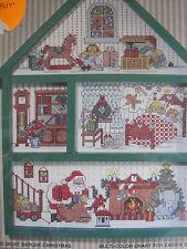 Bucilla Night Before Christmas Cross Stitch Hutch Kit 1994 New Sealed #83141