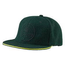 Lotus Cars Flat Peak Baseball Cap Sportscars Headwear Green Hat