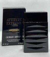 Attitude Extreme By Giorgio Armani Eau de Toilette parfume 50ml, 1.7Fl. for Men