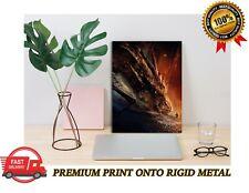 The Hobbit Smaug Dragon Classic Movie Premium METAL Poster Art Print