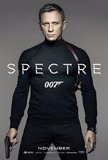 Spectre Movie Poster (24x36) - 007 James Bond, Daniel Craig, Monica Bellucci NEW