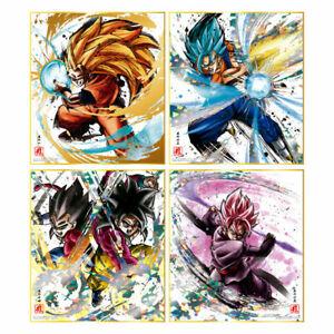 Dragon Ball Shikishi ART Reproduction Special BOX of 10 Bandai Japan New***