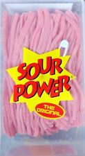 Sour Power Pink Lemonade Candy Straws 200 count by Dorval
