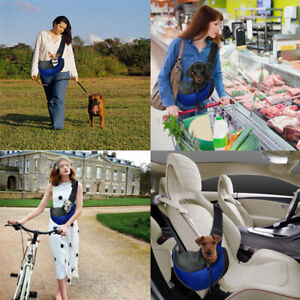 Pet Sling Carrier Bag Puppy Dog Cat Travel Carry Tote Pouch Shoulder Backpack