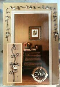 Decorative Metal ORB Scroll Work 7 Tea Light Candle Doorway Magical Night Decor!