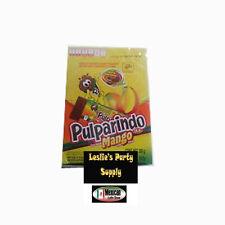 De La Rosa Pulparindo Mango Flavor Fruit Pulp Candy 20-pcs  10-oz box