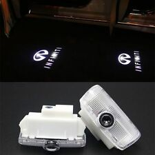 2x LED Logo Laser Cree Door Courtesy Welcome Shadow Courtesy Light For Infiniti