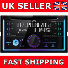 JVC JVC KW-R930BT CD DVD USB Bluetooth Android iPhone Car Stereo Radio 2Din New