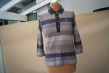 LACOSTE langarm Polo Shirt Bluse Poloshirt Gr.42 gestreift