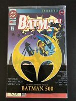 Batman #500 - POLYBAGGED WITH POSTER. KnightFall Part 19