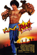 Kung Pow: Enter the Fist (2001) original movie poster - double-sided - rolled