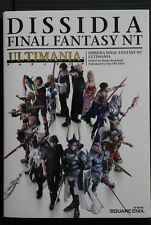 JAPAN Dissidia Final Fantasy NT Ultimania (Official Guide Book)