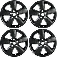"""New Set of 4 20"""" Gloss Black Wheel Skins for 2013-2014 Dodge Ram 1500 20"""" Wheels"""