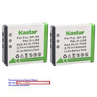 Kastar Replacement Battery for Fujifilm NP-50 BC-50 Fuji FinePix F800EXR Camera