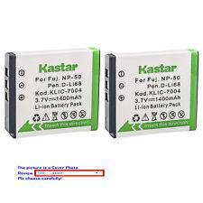 Kastar Replacement Battery for Fujifilm NP-50 BC-50 & Fuji FinePix F50FD Camera