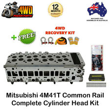 Mitsubishi Triton Pajero 4M41T Common Rail Cylinder Head Kit VRS Gasket & Bolts