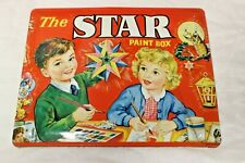 THE STAR PAINT BOX VINTAGE