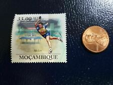 New listing Ma Lin Table Tennis Ping Pong Olympics 2010 Mocambique Perforated Stamp