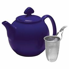 Chantal 1.5qt Tea for 4 Teapot with Stainless Steel Mesh Infuser - Indigo Blue