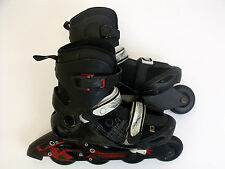 OXELO ADJUSTABLE Roller SKATES SIZE UK 21.5-22.5  (A-34)