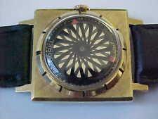 MAN'S SQUARE borel cocktail Orologio Caleidoscopio MISTERO Dial & display back