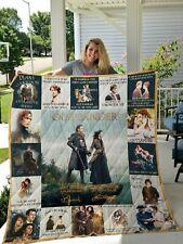Outlander TV Series Fleece, Quilt Blanket Made In USA