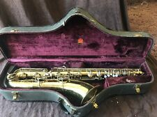 Conn 12M baritone saxophone Naked Lady USA Made Sax